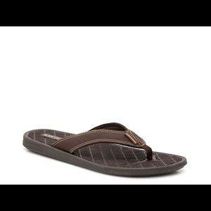 Body Glove 10 Flip Flop Sandals Brown Montego NWT